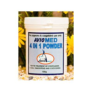 Aviomed 4 In 1 Powder
